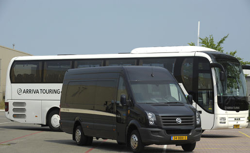 19 persoons luxe bus