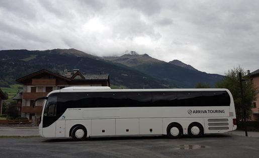 Arriva Touring op reis