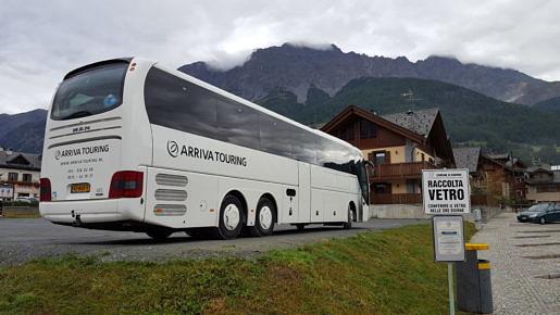 Arriva Touring in de bergen