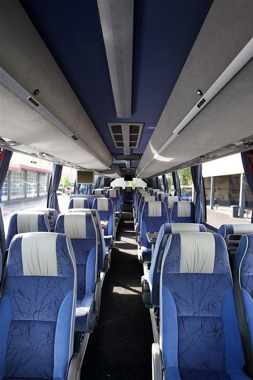 Interieur Groningen bus