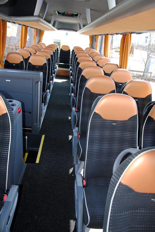Interieur touringcar