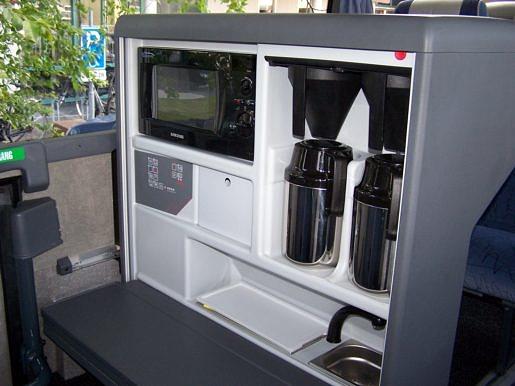 Koffiebar in touringcar