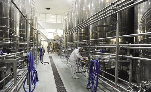 Yakult fabriek