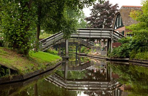Gondelroute Giethoorn