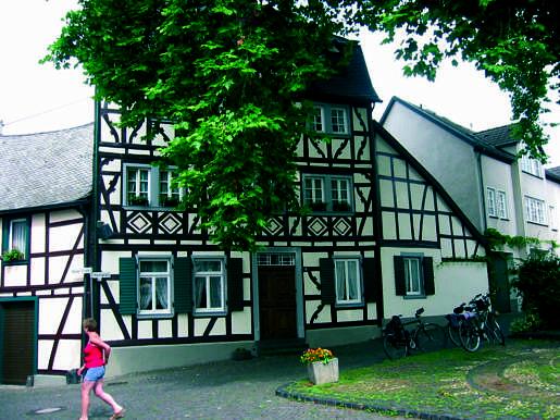 Typisch duits huisje - Rij en Eifel reis