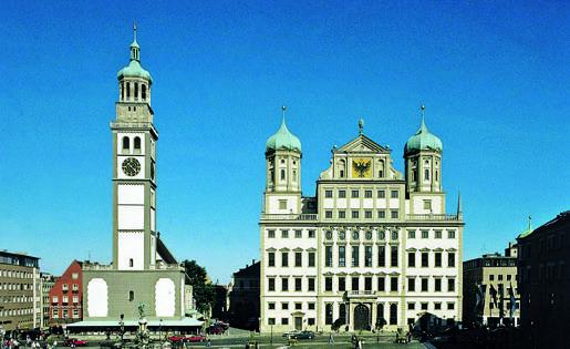 Augsburg plein Duitsland